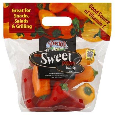 Pero Family Farms Peppers, Mini, Sweet