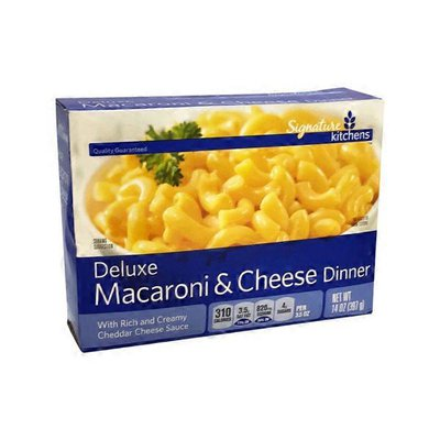 Signature Kitchens Macaroni & Cheddar Dinner, Deluxe