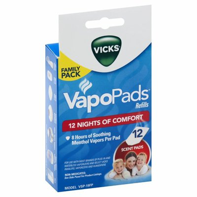 Vicks Scent Pads, Refills, Family Pack