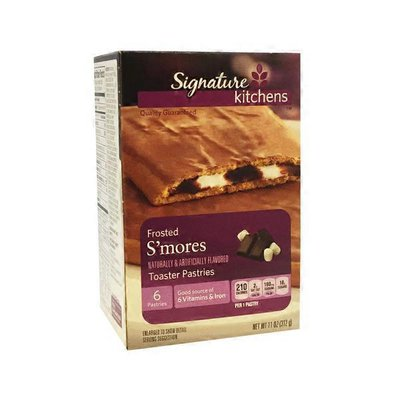Signature Select Frosted S'mores Toaster Pastries