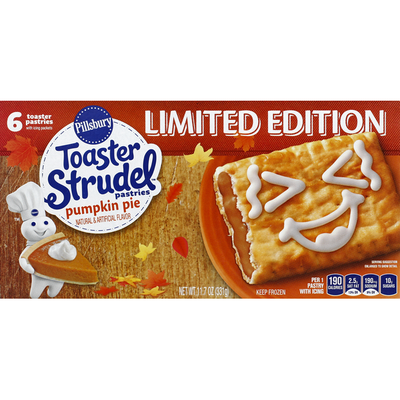 Pillsbury Toaster Pastries, Pumpkin Pie
