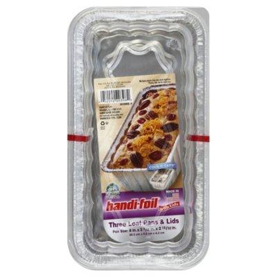Handi-Foil Loaf Pans & Lids