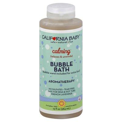 California Baby Bubble Bath, Aromatherapy, Calming