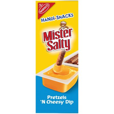 RITZ Mister Salty Pretzels 'n Cheesy Dip