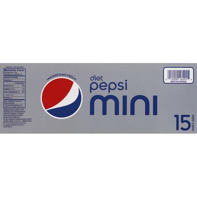 Pepsi Cola, Diet, Mini Cans