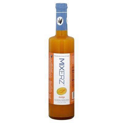 Mixerz All-Natural Cocktail Mixer, Mango