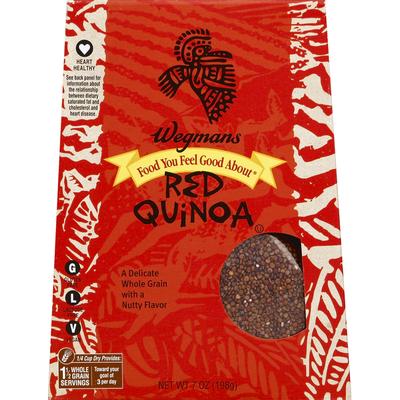 Wegmans Food You Feel Good About Red Quinoa