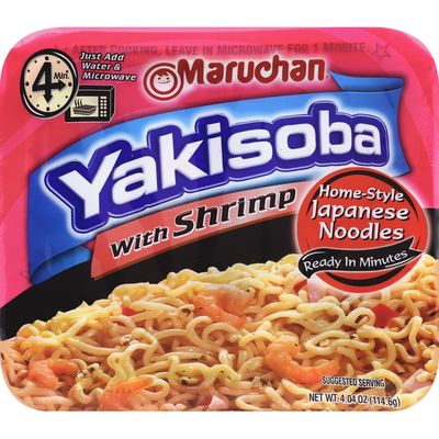 Maruchan Yakisoba, with Shrimp