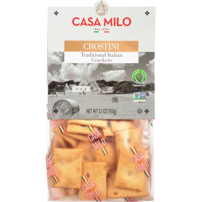Casa Milo Crostini, Traditional Italian, Crackers
