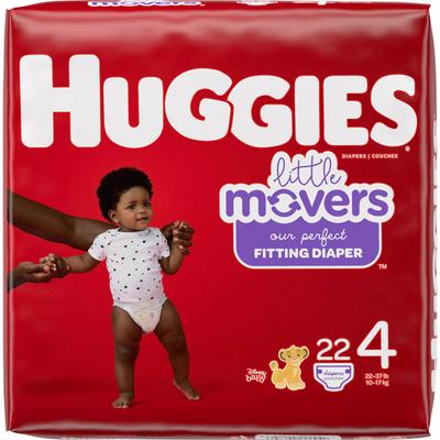 Huggies Baby Diapers, Size 4