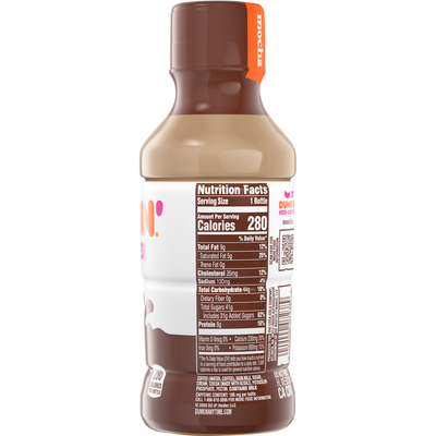 Dunkin' Mocha Iced Coffee Bottle