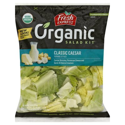Fresh Express Salad Kit, Organic, Classic Caesar