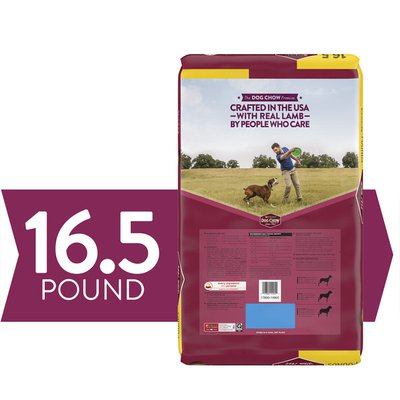 Purina Dog Chow Dry Dog Food, Tender & Crunchy With Real Lamb