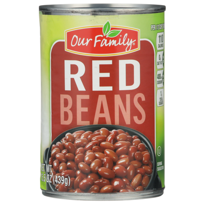 Our Family Red Beans