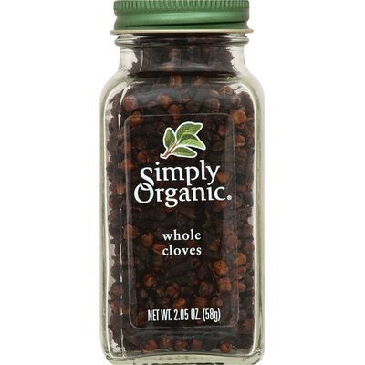 Simply Organic Cloves, Whole