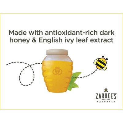 Zarbee's Naturals Children's Cough Syrup + Mucus with Dark Honey, Grape
