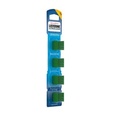 Listerine Ultraclean Access Flosser Refill Heads, Mint