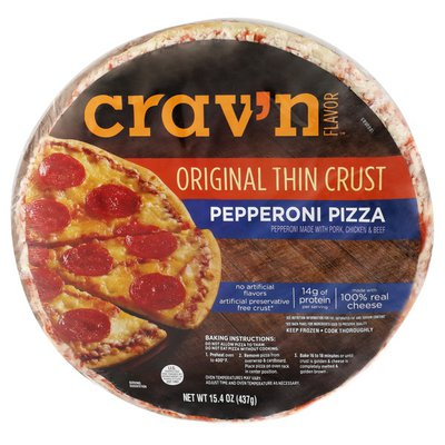 Crav'n Flavor Pepperoni Original Thin Crust Pizza