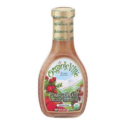 Organicville Organic Ville Organic Vinaigrette Pomegranate