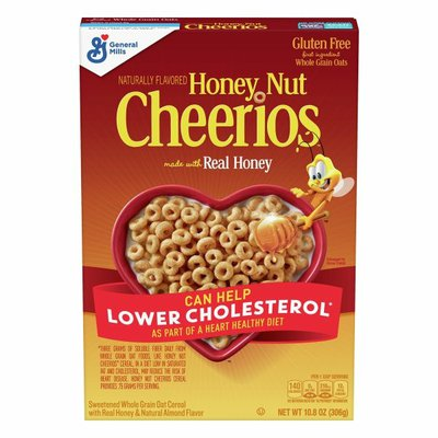 Honey Nut Cheerios Cereal with Oats, Gluten Free