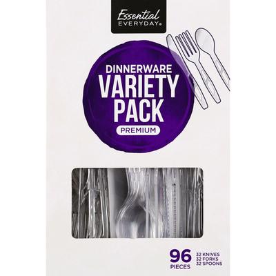 Essential Everyday Dinnerware, Premium, Variety Pack
