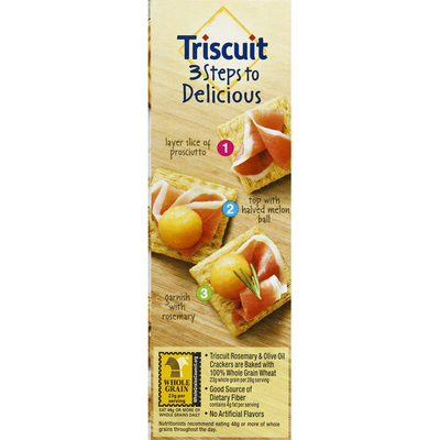 Triscuit Crackers, Rosemary & Olive Oil