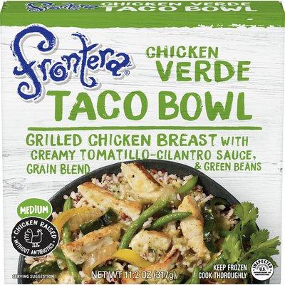 Frontera Chicken Verde Taco Bowl