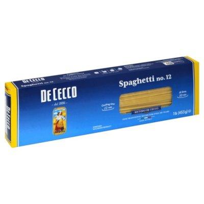De Cecco Spaghetti, No. 12