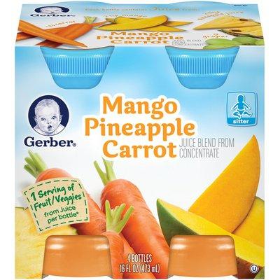 Gerber Mango Pineapple Carrot Juice Blend Fruit & Veg