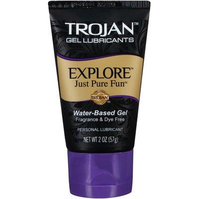 Trojan Explore Water Based Gel Lubricants
