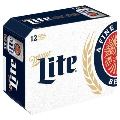 Miller Lite Beer Cans