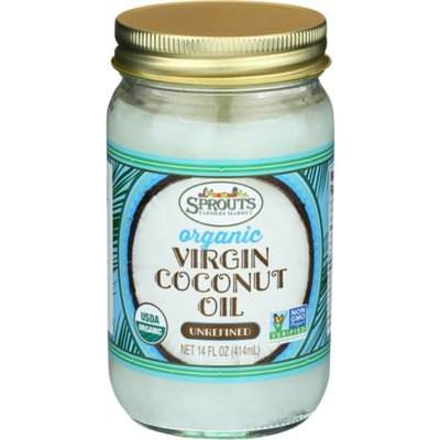Sprouts Organic Unrefined Coconut Oil