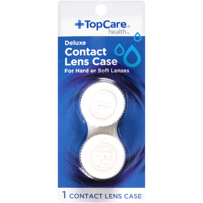 TopCare Deluxe Contact Lens Case