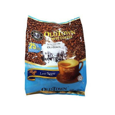 Old Town 3 In 1 Less Sugar White Coffee