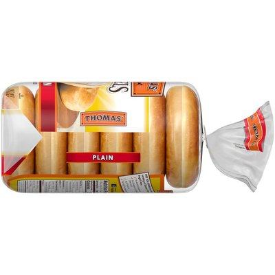 Thomas Plain Original Pre-Sliced Bagels