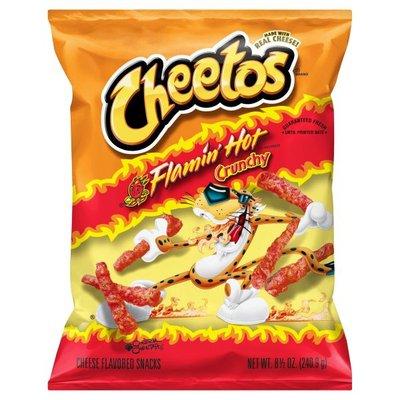 Cheetos Flamin' Hot Cheese Flavored Snacks