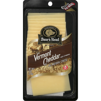 Boar's Head Cheese, Vermont Cheddar