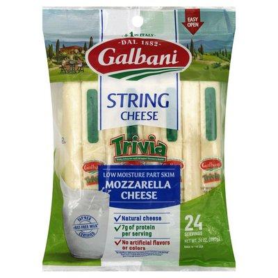 Galbani Galbani Part Skim Mozzarella String Cheese