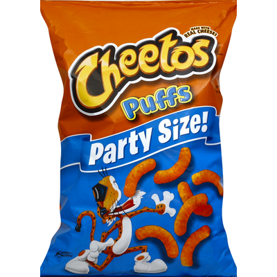 CHEETOS Puffs Party Size Cheese Flavored Snacks