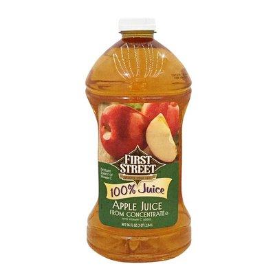 First Street 100% Apple Juice