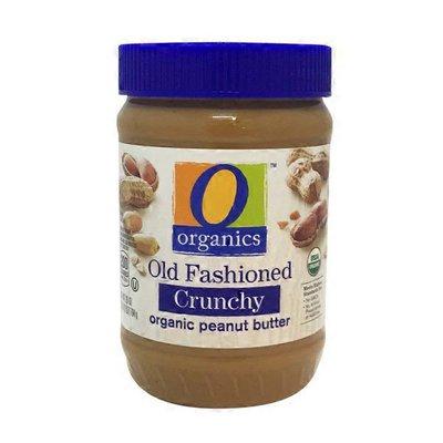 O Organics Crunchy Old Fashioned organic peanut butter