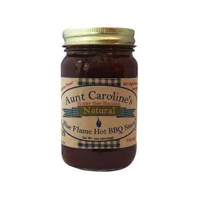 Aunt Caroline's BBQ Blue Flame Hot BBQ Sauce