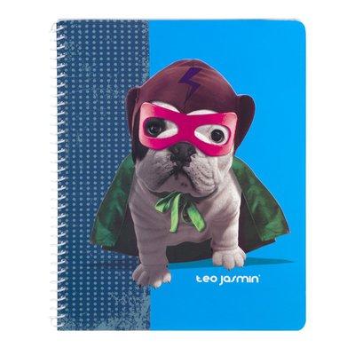 Top Flight Notebook, 1 Subject, Wide Rule, 80 Sheets