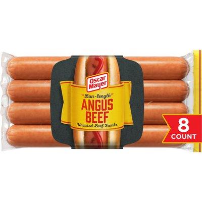 Oscar Mayer Franks Premium Beef Bun Length Franks