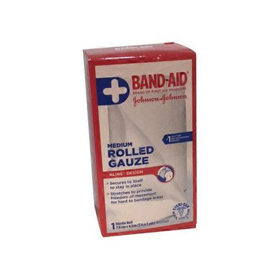 Johnson & Johnson 84392 First Aid Gauze Roll