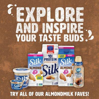 Silk Shelf-Stable Dark Chocolate Almond Milk Singles
