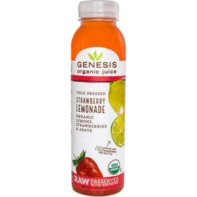 Genesis Organic Juice Strawberry Lemonade