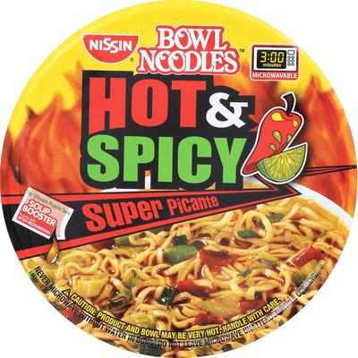 Nissin Hot & Spicy Blazing Hot Flavor Ramen Noodle Soup