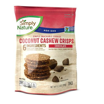 Simply Nature Chocolate Coconut Cashew Crisps