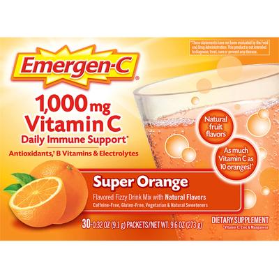 Emergen-C Super Orange Vitamin C Dietary Supplement Drink Mix
